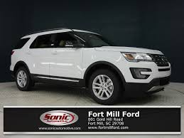 ford explorer 2017 ford explorer in fort mill sc fort mill ford