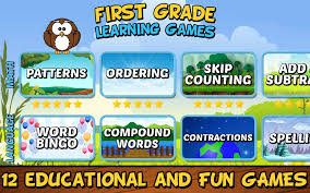 first grade learning games android apps on google play