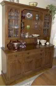 dining room cool sleek french provincial china cabinet hutch
