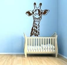 Giraffe Wall Decals For Nursery Giraffe Wall Decals For Nursery Zebragarden Me