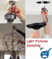 Wiring A Ceiling Light Fixture Install A Light Fixture Without Drilling A In The Ceiling