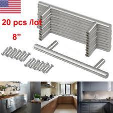 Stainless Steel Kitchen Cabinet Handles Stainless Steel Handles Ebay