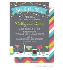stock the bar party 9 best stock the bar shower invitations images on