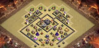 layout design th7 th7 war base farming base layouts 2017 clash of clans tec