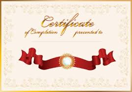 vector certificate template design art free vectors ui download