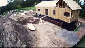 energy efficient minnesota sip home construction time lapse phase