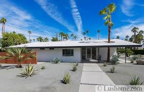 mid century modern house exteriors distinct roof design for