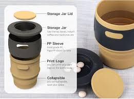 Collapsible Coffee Mug Collapsible Camping Cup Portable Lightweight Collapsible Mug