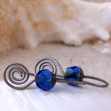 titanium earrings sensitive ears nickel free earrings silver boho filigree earrings dangle bohemian