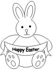8 rabbit patterns images easter coloring pages