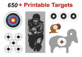 printable shooting targets pdf s and s targets spinning silhouette air rifle shooting targets