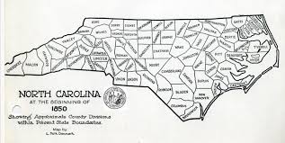 Map Of South Carolina Counties Some Early Nc Maps