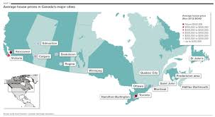 Map Of Canada Cities by Savills Uk Canada U0027s Big Cities