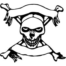 banner coloring pages skull coloring pages getcoloringpages com