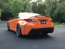 lexus rcf winter tires mn 2015 lexus rc f rwd 467hp orange rocket mint shape as new