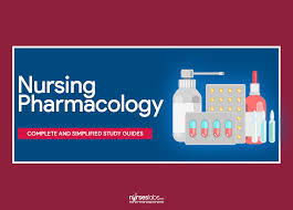 nursing pharmacology study guides for nurses