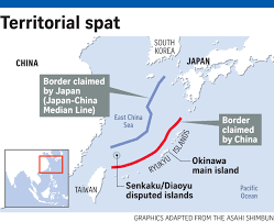 East China Sea Map Japan Wants China To Halt Oil Exploration In East China Sea East