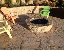 Stone Fire Pit Kit by Stone Fire Pit Kit Decorative Stone Landscaping Designs