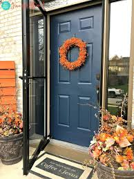 fast diy painted front door and door paint suggestions magic brush