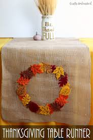 Fall Table Runners by Diy Fall Table Runner Easy U0026 Colorful Consumer Crafts