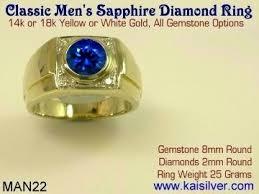 blue man rings images Man wedding ring sapphire and diamond men 39 s wedding rings jpg