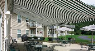Side Awnings For Patios The Total Eclipse Commercial Retractable Awning Eclipse Shading
