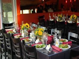 italian dinner party centerpiece black table setting ideas italian