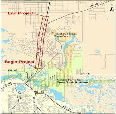 Map Of Ocala Fl U S 41 Widening Meeting Draws 200 People News Ocala Com