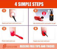 amazon com turn any nail polish into gel color use base u0026 top
