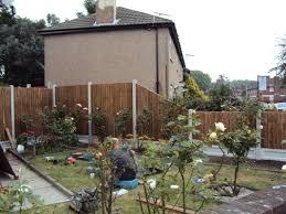 garden fencing tidy gardens