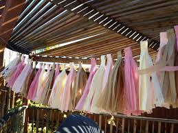 tassel garland tea party decoration wedding party shower