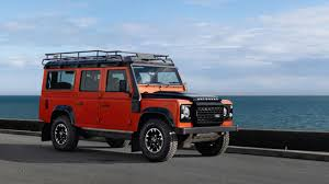 land rover defender 2015 black land rover defender the run out specials top gear