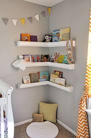 Wood Corner Shelf Design by Best 25 Nursery Shelving Ideas On Pinterest Nursery Shelves