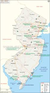 Delaware Map Usa by Reference Map Of New Jersey Usa Nations Online Project New Jersey