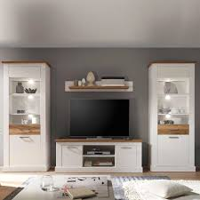 Led Beleuchtung Wohnzimmer Planen Moderne Wohnzimmer Schrankwand Domina Oxford Wohnwand Anbauwand