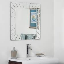 Bathroom Mirrors Overstock Modern Bathroom Mirror Free Shipping Today Overstock
