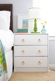 Ikea Nightstand White Ikea Hack Nightstands Google Search 3 Drawer Malm With Cool