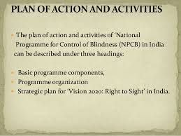 History Of Blindness National Programme For Control Of Blindness