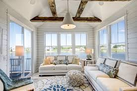 How To Decorate A Ranch Style Home Ranch Style Home With Transitional Coastal Interiors Home Bunch