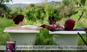 Cialis Bathtub Commercial This Hilarious New Deadpool Video Parodies Cialis Commercials Pre