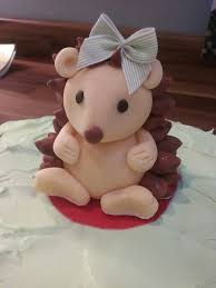 sonic the hedgehog cake topper best 25 hedgehog cake ideas on porcupine cake