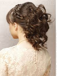 medium length hairstyles with braids to curly hairstyles for prom for medium length hair with braid