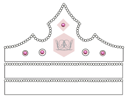 crown template free printable contegri com