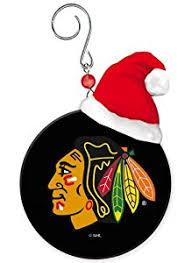 chicago blackhawks mini puck ornament home