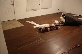 flooring vinyl plank flooring basement how to install