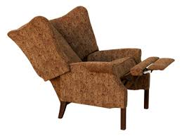 wingback recliner colonial housecolonial house