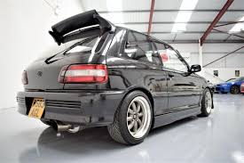 toyota starlet used 1994 toyota starlet gt turbo kitted ep82 classic shape for