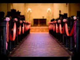 Pew Decorations For Weddings Diy Wedding Pew Decorations Youtube