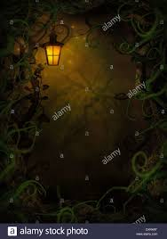background halloween image halloween horror background with spooky vines green branches and