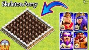 clash of clans all troops giant skeleton vs all troops clash of clans new update